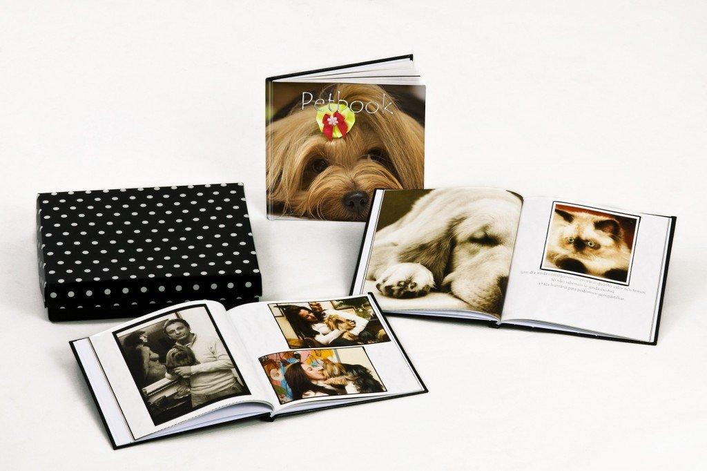 Albúm de fotos de animais de estimação