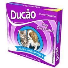 Coleira anti-pulgas para cães e gatos